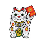 Chairman Miaow Peacey Cat Shaped Sticker