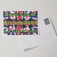 No Winners Postcard