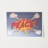 Sudden Outbreak Of Peace Postcard