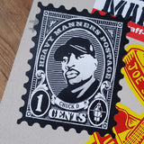 Chuck D Tribute Shaped Sticker
