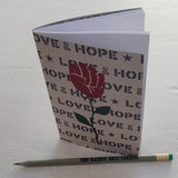 A6 Recycled Notebook & Pencil Set