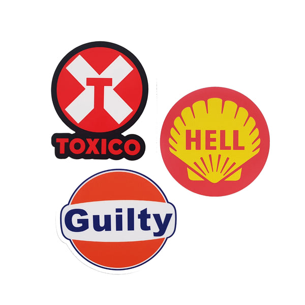 Oil Co Sticker Set