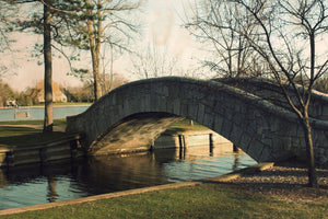 Doty Park Bridge Neenah