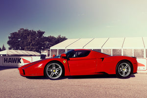 Ferrari Enzo at Elkhart Lake, Wisconsin