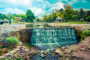 Lime Kiln Park Waterfall Menomonee Falls