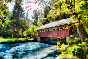 Covered Bridge at Red Mill Waupaca