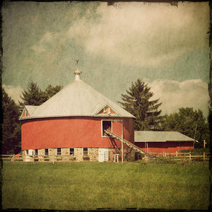 Round Barn Midwest Fine Art Photo