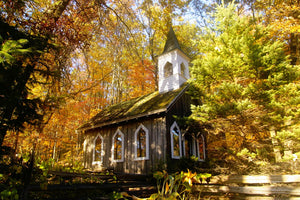 Fall at the Red Mill Chapel