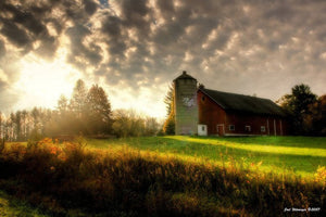 Barn at Sunrise Fine Art Photograph