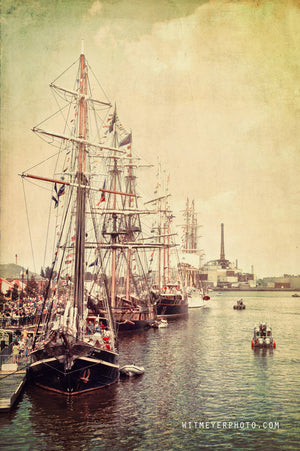 Tall Ships Docked in Green Bay Wisconsin