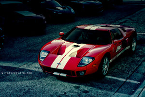 Red Ford GT Fine Art Photograph