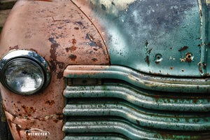 Rusty Old Truck Fine Art