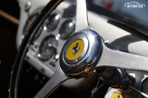 Vintage Ferrari Steering Wheel at Elkhart Lake