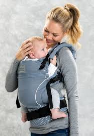Geometric Pattern Type Baby Carrier – Travel Pack Design