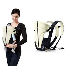 Solid Pattern Type Baby Carrier – Soft Padded Shoulder Wrap Design