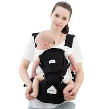Load image into Gallery viewer, Solid Pattern Type Baby Carrier – Easy-Fit Design