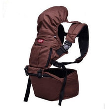 Load image into Gallery viewer, Organic Cotton 360 Baby Carrier Sling with Detachable Hip Seat