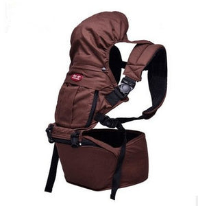 Organic Cotton 360 Baby Carrier Sling with Detachable Hip Seat