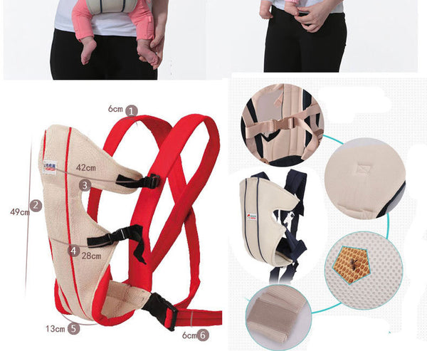 Classical Pattern Type Baby Carrier – Classic Carry Design