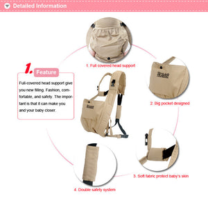 4-Way Carry Lightweight Baby Sling Wrap