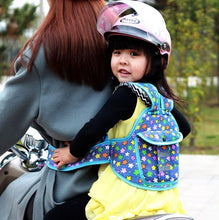 Load image into Gallery viewer, Children/Toddler's Waterproof Safety Motorcycle/Bicycle Seat