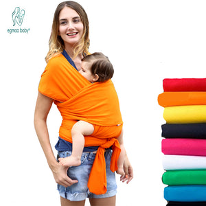 Solid Pattern Type Baby Carrier – Front Facing Slip Wrap Design