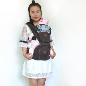 Multi-Purpose Baby Carrier with Hip Seat