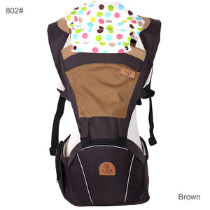 Patchwork Pattern Type Baby Carrier – Cotton Blended Design