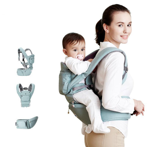 Multifuntional – Patchwork Pattern Type Baby Carrier – Front and Back Support Design
