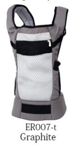 Organic Cotton Baby Carrier with Adjustable Wrap