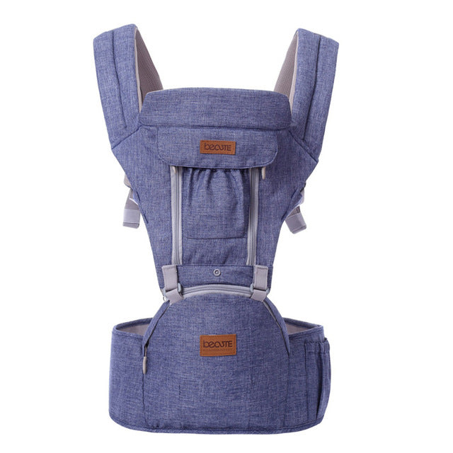 Solid Pattern Type Baby Carrier – Easy-Fit Design