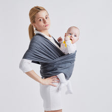 Load image into Gallery viewer, Solid Pattern Type Baby Carrier – Multi-Purpose Sling Wrap Design