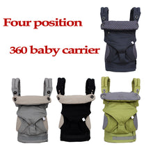 Load image into Gallery viewer, Organic 360 Position Multifunctional Cotton Baby Carrier