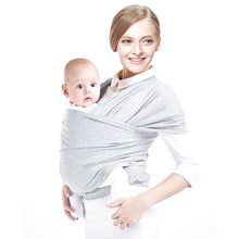 Load image into Gallery viewer, Solid Pattern Type Baby Carrier – Breathable Sling Wrap Design