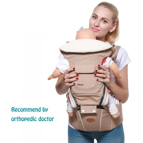 Baby Carrier/Kangaroo Bag with Hip Seat