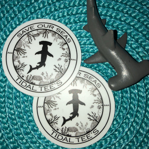 Hammerhead Shark Decal