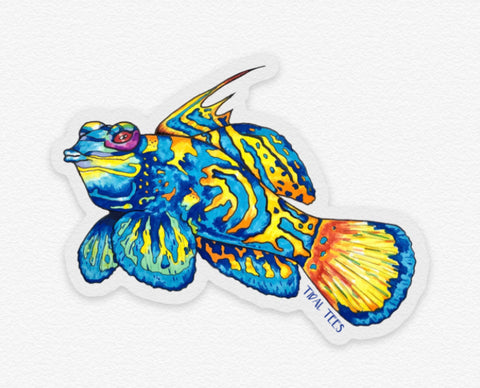 Mandarin Fish Decal