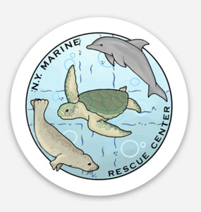 NY Marine Rescue Center Decal