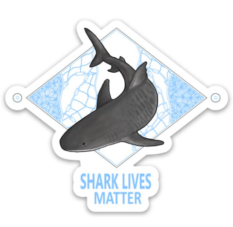 Shark Lives Matter Decal