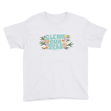 Clean Our Seas Youth Short Sleeve