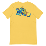 Mandarin Fish Unisex T-Shirt (Front and Back Print)