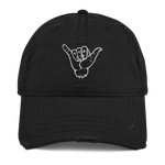 Load image into Gallery viewer, Shaka Distressed Dad Hat