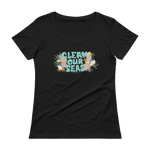 Load image into Gallery viewer, Clean Our Seas Scoopneck T-Shirt
