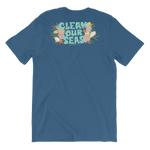 Load image into Gallery viewer, Clean Our Seas Unisex T-Shirt (Front and Back Print)