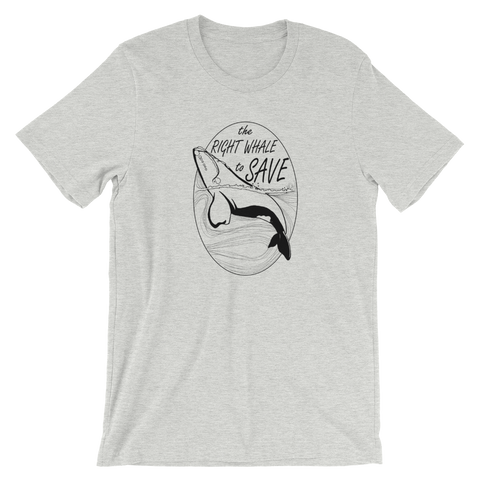 Right Whale Unisex T-Shirt