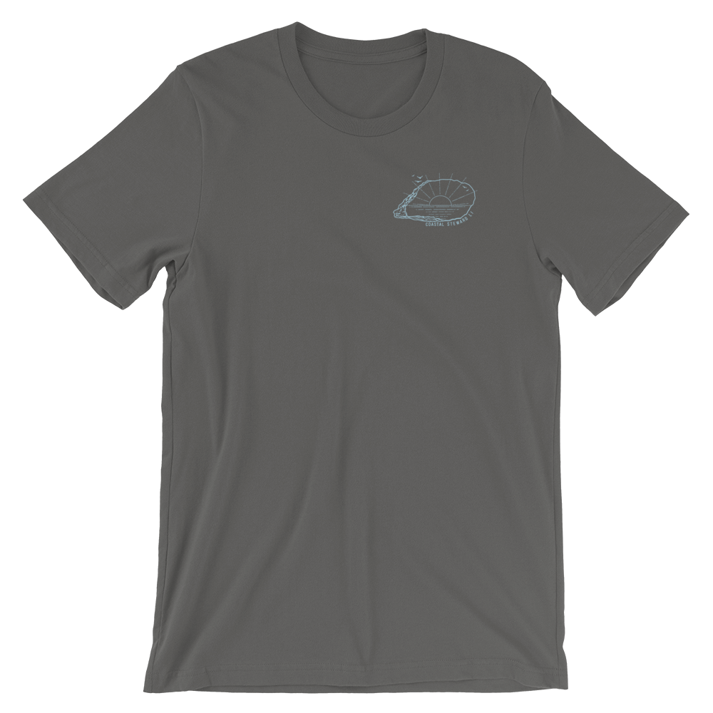 Coastal Steward LI Unisex T-Shirt (Front and Back)