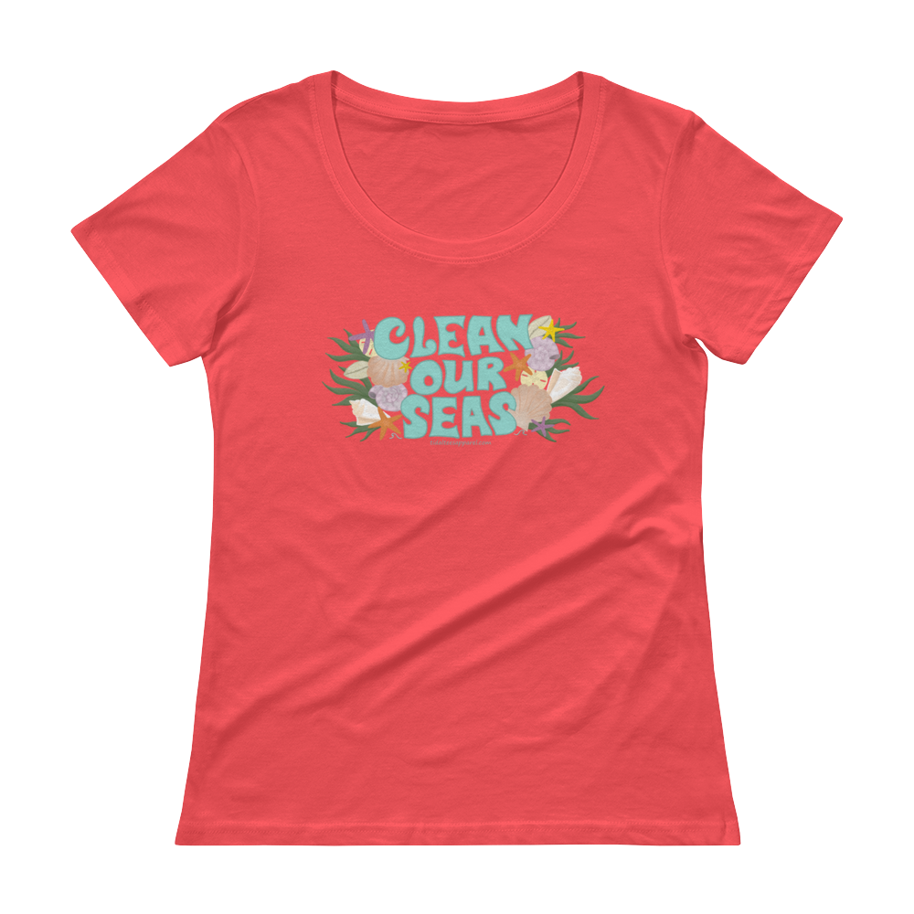 Clean Our Seas Scoopneck T-Shirt
