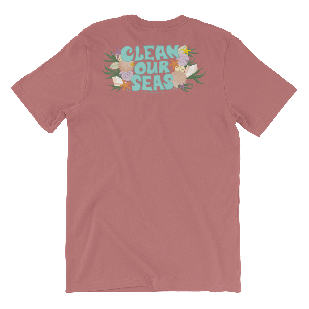 Clean Our Seas Unisex T-Shirt (Front and Back Print)
