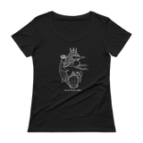 Ocean Heart Scoopneck T-Shirt