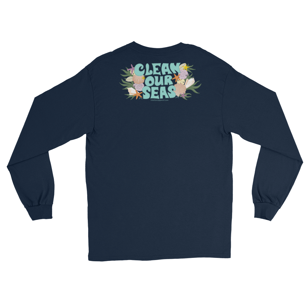 Clean Our Seas Long Sleeve (Front and Back Print)
